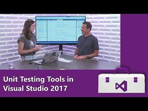 Unit Testing Tools in Visual Studio 2017