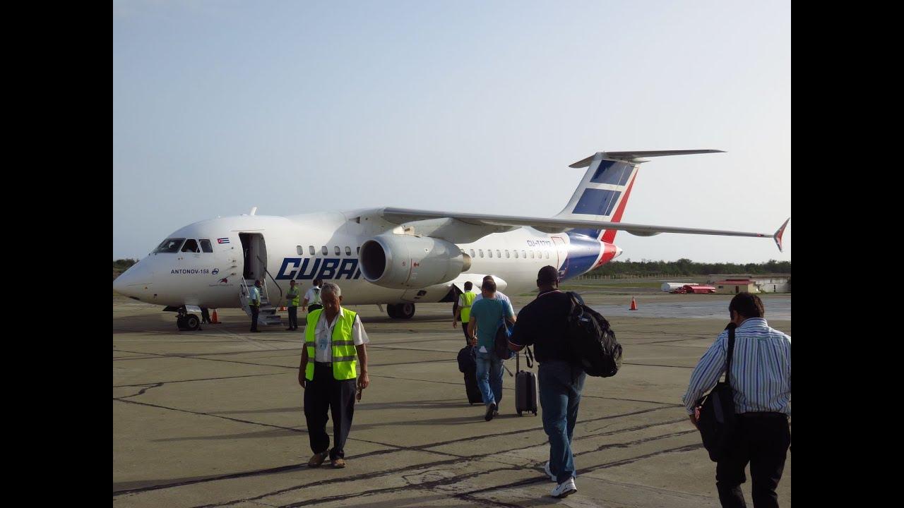Aeroporto Havana Arrivi : Cubana an flight from santiago de cuba scu to havana josé