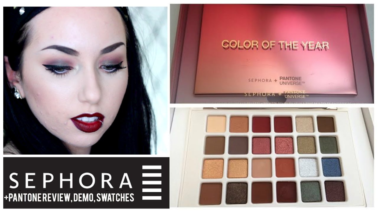 Sephora+Pantone Marsala Color of the Year 2015 Eyeshadow Palette ...