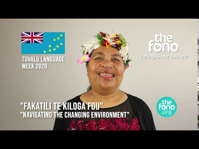 The Fono | Tuvalu Language Week 2020 | Message from Elena Tauliani | 'Fakatili Te Kiloga Fou'