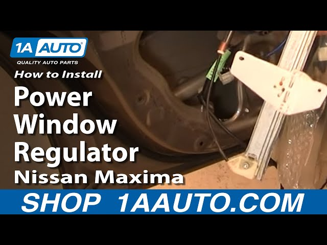 Front Right Passenger Side Window Lift Motor for Nissan Maxima 2004-2008