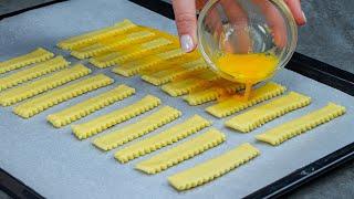 Готовы за 15 минут самый простой рецепт соленого печенья с сыром