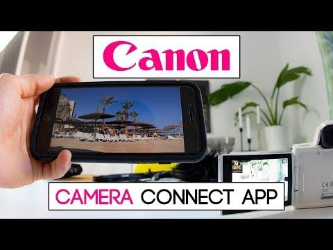 Kamera mit dem Smartphone verbinden | Canon EOS M50 | Canon Camera Connect App