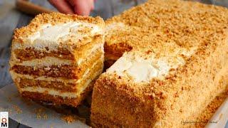 Торт Медовик за 30 МИНУТ Без Лишних Заморочек Honey Cake Recipe