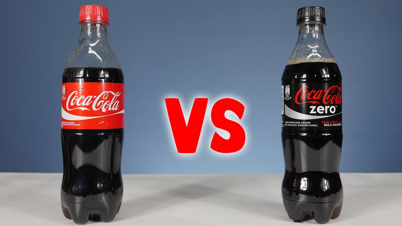 coca cola vs coca cola zero awesome science experiments. Black Bedroom Furniture Sets. Home Design Ideas