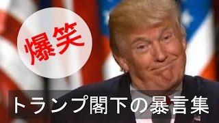 【字幕】トランプ閣下のありがたい名言(暴言)集