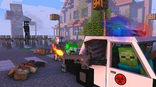- Monster School ZOMBIE APOCALYPSE CHALLENGE Minecraft Animation