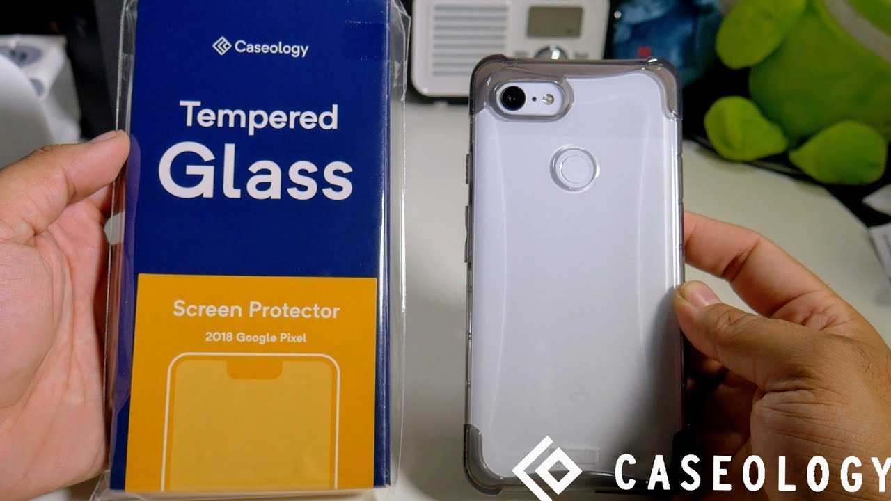 best sneakers ed84a f0291 Caseology Google Pixel 3XL Tempered Glass Installation! Not Perfect But It  Works