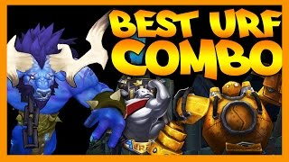 Best URF Combo - League of Legends