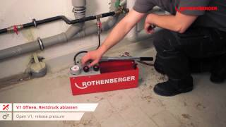 Rothenberger RP50 S – Pressure Testing pump 6.1004