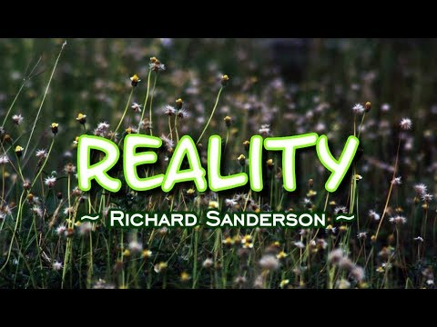 Reality - Richard Sanderson (KARAOKE)