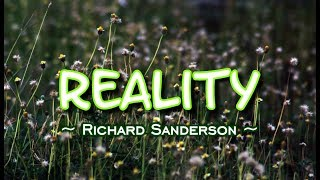 Reality - Richard Sanderson (KARAOKE VERSION)