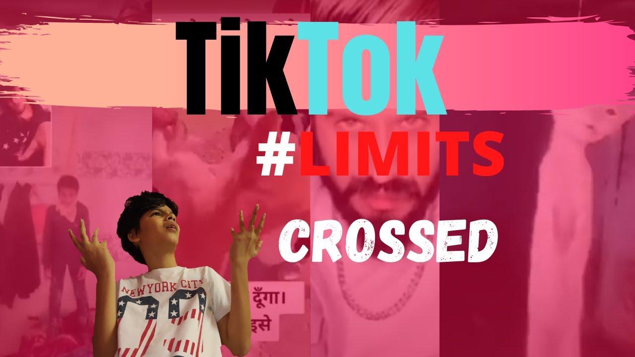 Tiktok- Limits Crossed    Comic chutney