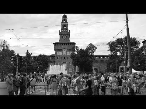 DRIVERS PARADE   F1 MONZA 2017   Piazza Castello Milano
