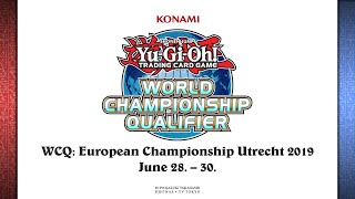 🔴LIVE: Yu-Gi-Oh! WCQ 2019: European Championship in Utrecht/Netherlands