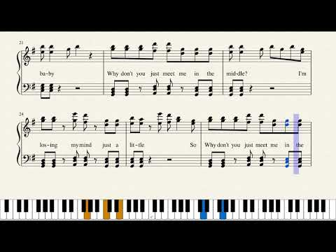 The Middle - Zedd, Maren Morris - Piano - Sheet Music