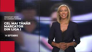 PROSPORT NEWS, cu Carmen Mandiș! Dezvăluiri despre Enes Sali, diamantul de 15 an