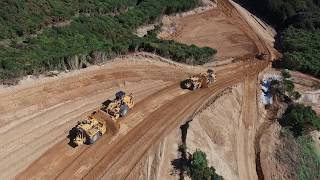 Cat 637K Transmission Gully Project