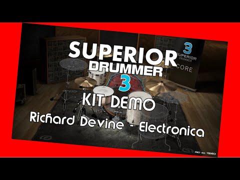 SUPERIOR Drummer 3 - Demo Richard Devine - Electronica / Preset overview TOONTRACK