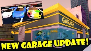 NEW GARAGE UPDATE | VEHICLE SPAWNING! Roblox JAILBREAK