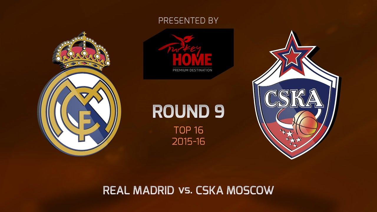 highlights real madrid cska moscow youtube