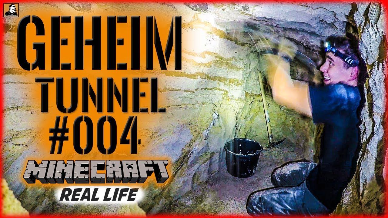 Download Survival Mattin baut GEHEIMTUNNEL #004   MINECRAFT Real Life   BUSHCRAFT CAMP SHELTER ÜBERNACHTUNG