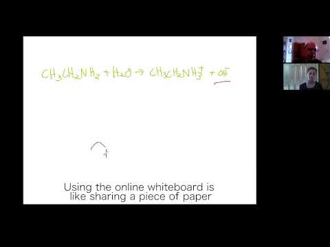 How Online Chemistry Tuition Works: Video Call Lesson With Shared Whiteboard
