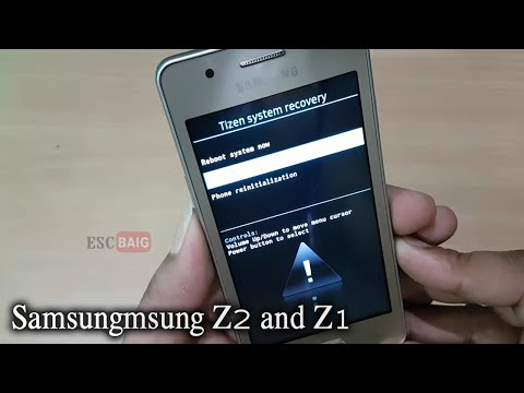 Samsung Z2 - 4G voice Hard Reset || Fix Forgot Screen Lock || Factory Reset