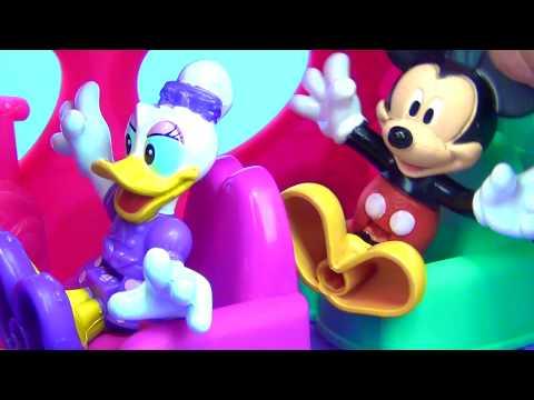 Disney Jr. MINNIE MOUSE Polka Dot Jet Plane: Mickey Daisy Duck Peppa Pig Princess Castle Toys / TUYC