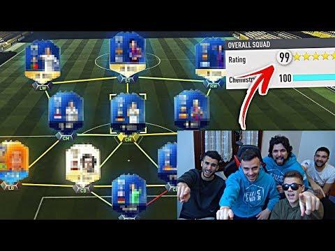 La SQUADRA più FORTE di FIFA 18!!! w/OHM, TATINO, ENRY LAZZA