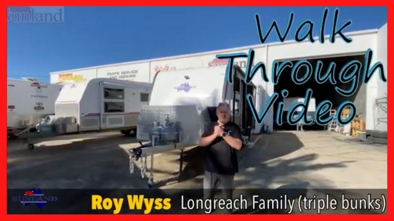 "Longreach Family 20'6"" Walk Through Video"