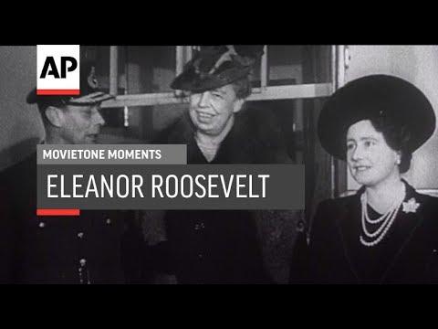 Eleanor Roosevelt - 1942 | Movietone Moment | 11 Oct 19