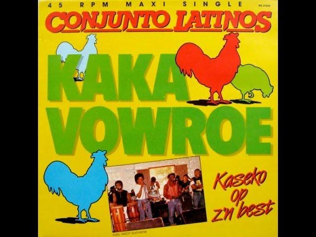 Conjunto Latinos - kakavowroe 12'' (1984)