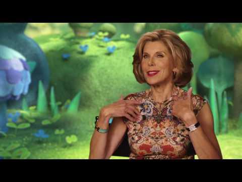 "Trolls ""Chef"" Christine Baranski Behind The Scenes Interview"
