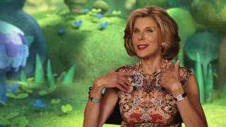 "Trolls ""Chef"" Christine Baranski Behind The Scenes Interview"
