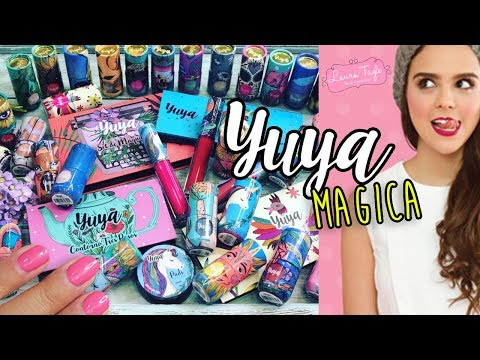 YUYA lanzó sus esmaltes y maquillaje y ya los tengo Todos!!