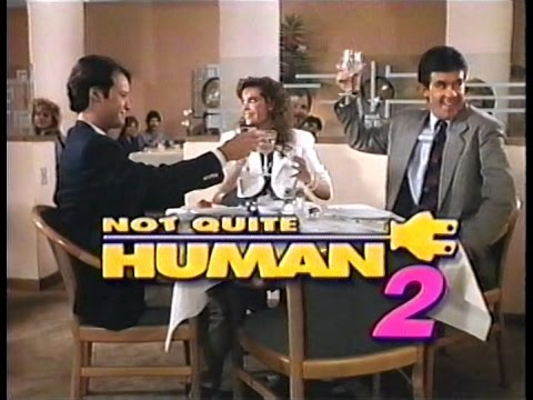 NOT QUITE HUMAN II 1989 Video