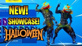 *NEW* HOLLOW HEAD SKIN SHOWCASE WITH DANCE EMOTES! Fortnite Battle Royale