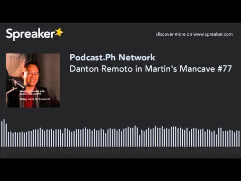 Danton Remoto in Martin's Mancave #77