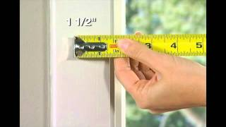 Measuring for Outside Mount Blinds Mp3