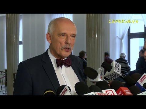 Janusz Korwin-Mikke o dzisiejszym szczycie UE w Brukseli - Donald Tusk szefem Rady Europejskiej