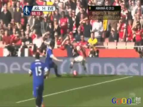 Arsenal 4-1 Everton FA Cup 8/3/2014