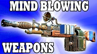 Fallout 4 Top 10 UNBELIEVABLE weapon mods