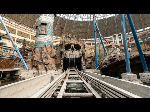 Abandoned Indiana Jones Massive Indoor Theme Park Inside Dead Mall of China