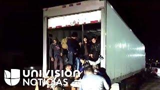 Detienen camión en México con 153 migrantes, entre estos 49 menores de edad