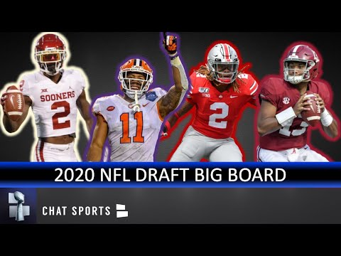 UPDATED 2020 NFL Draft Big Board: Top 32 Prospect Rankings, Led By Chase Young & Tua Tagovailoa