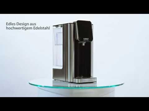 100°C in 5 Sekunden Caso HW 400 Turbo Heisswasserspender