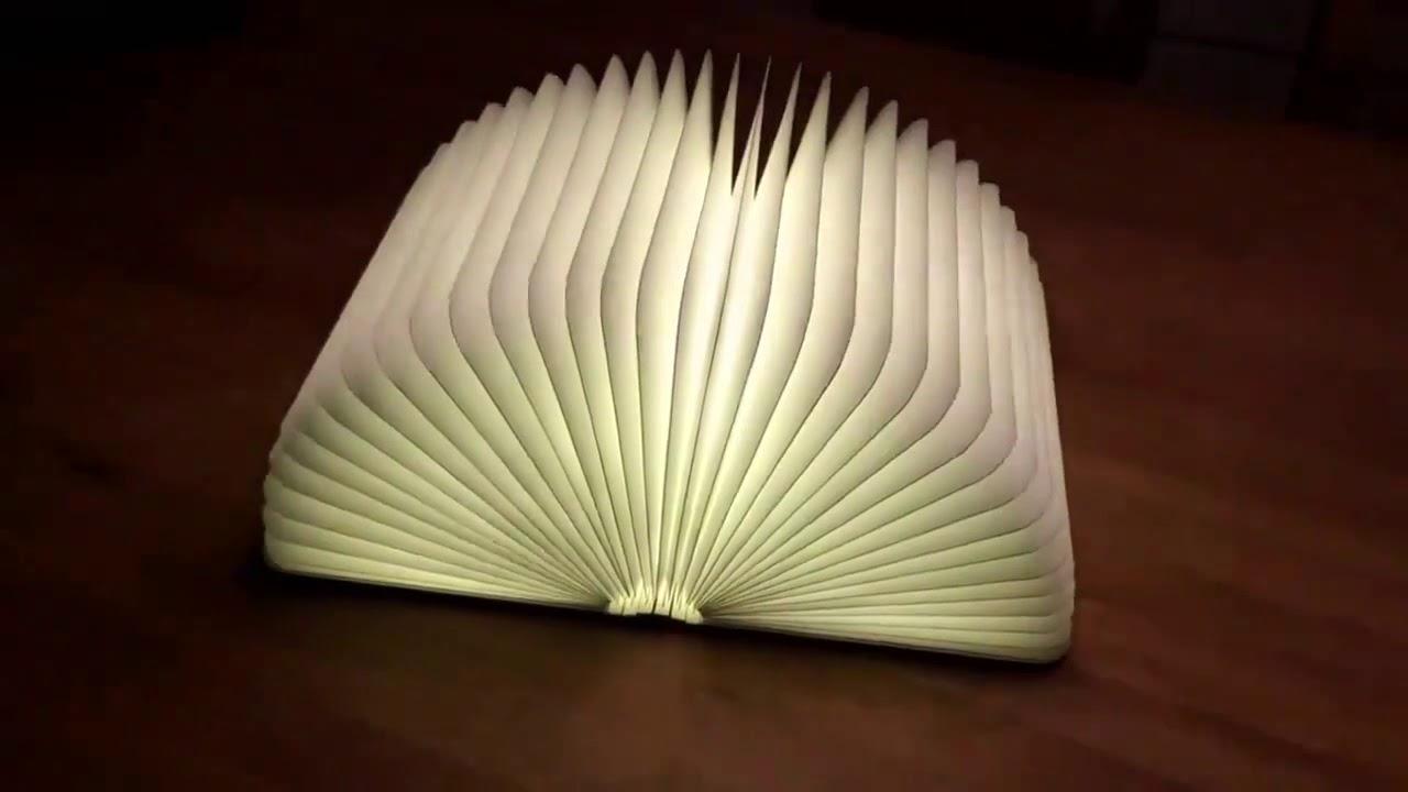 Lumibook Le Livre Lumineux Youtube
