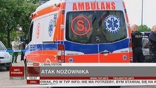 17-latek podejrzany o zabicie sklepikarza (TVP Info, 11.06.2013)