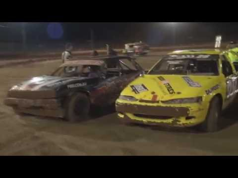 Modified Sedans - A-Main - Queensland Title - Carina Speedway - 11.06.16